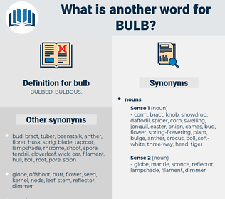 bulb, synonym bulb, another word for bulb, words like bulb, thesaurus bulb