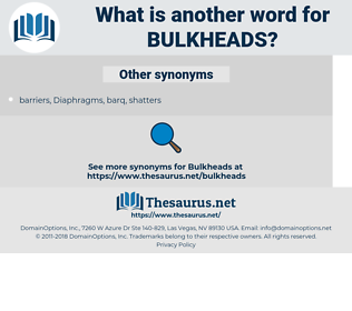 bulkheads, synonym bulkheads, another word for bulkheads, words like bulkheads, thesaurus bulkheads