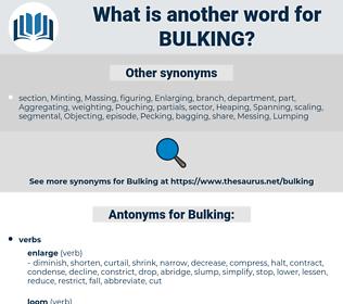 Bulking, synonym Bulking, another word for Bulking, words like Bulking, thesaurus Bulking