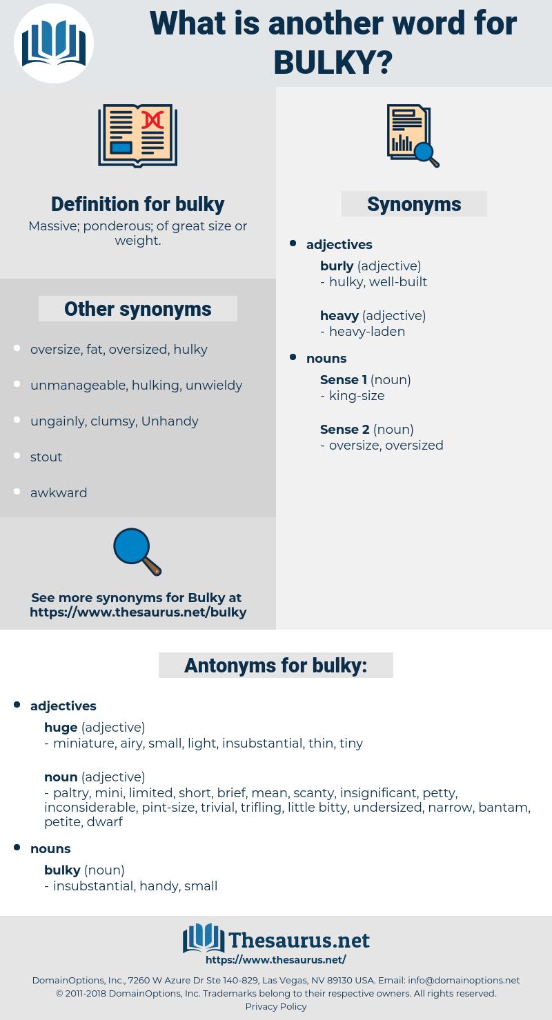 bulky, synonym bulky, another word for bulky, words like bulky, thesaurus bulky