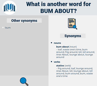 bum about, synonym bum about, another word for bum about, words like bum about, thesaurus bum about