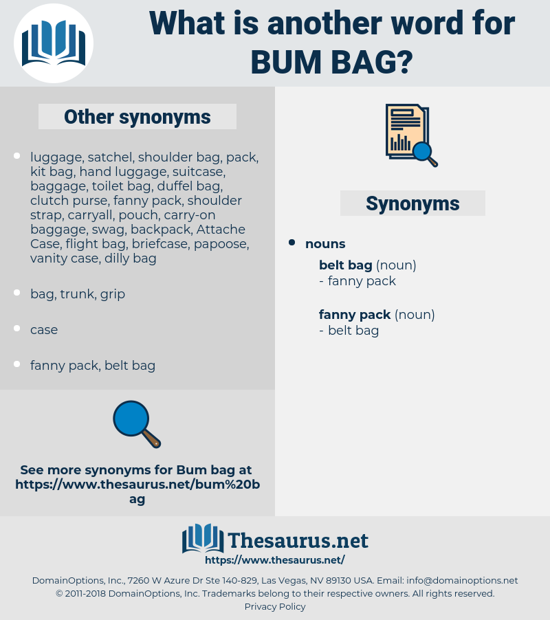 bum bag, synonym bum bag, another word for bum bag, words like bum bag, thesaurus bum bag