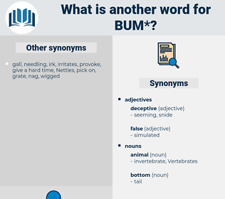 bum, synonym bum, another word for bum, words like bum, thesaurus bum