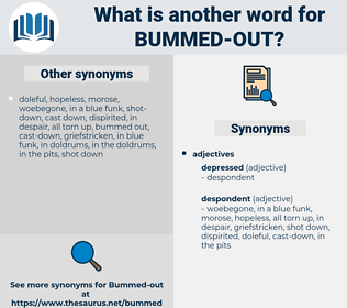 bummed out, synonym bummed out, another word for bummed out, words like bummed out, thesaurus bummed out