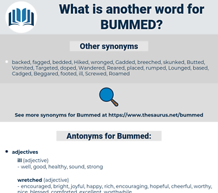 Bummed, synonym Bummed, another word for Bummed, words like Bummed, thesaurus Bummed