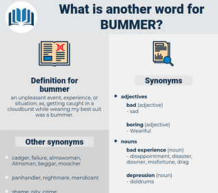bummer, synonym bummer, another word for bummer, words like bummer, thesaurus bummer