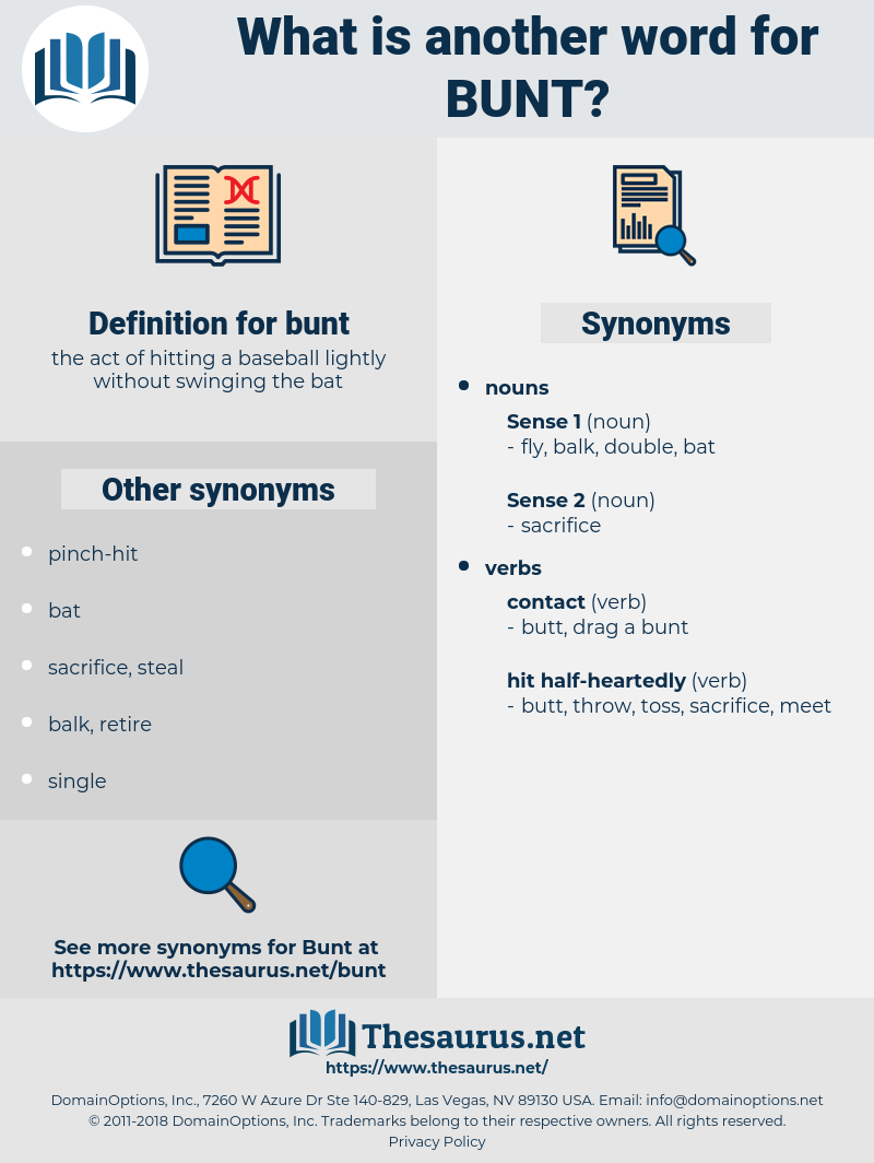 bunt, synonym bunt, another word for bunt, words like bunt, thesaurus bunt