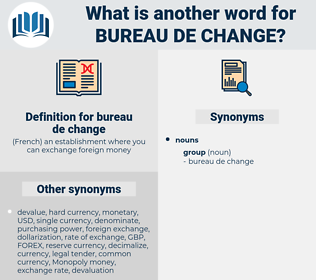 bureau de change, synonym bureau de change, another word for bureau de change, words like bureau de change, thesaurus bureau de change