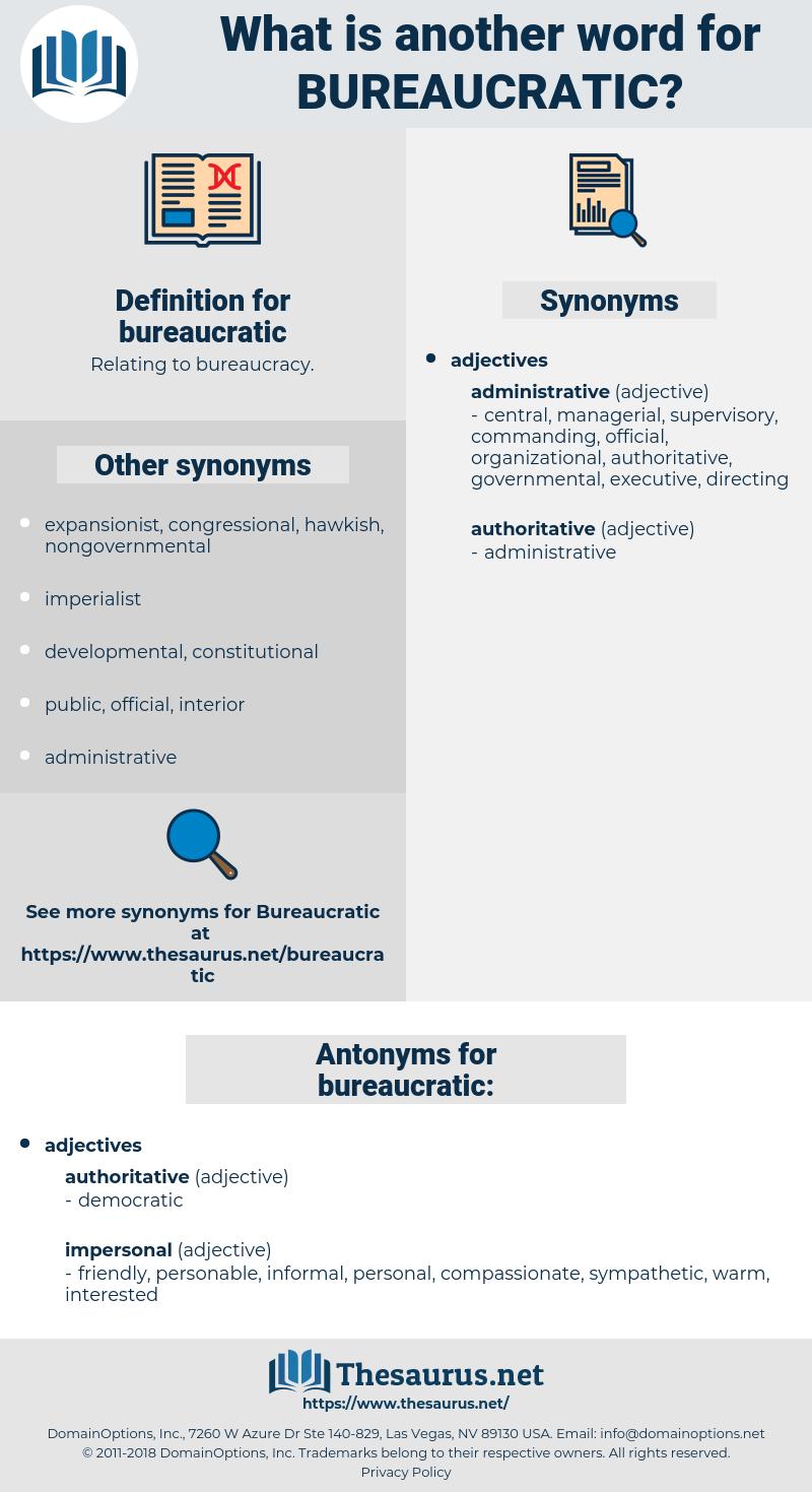 bureaucratic, synonym bureaucratic, another word for bureaucratic, words like bureaucratic, thesaurus bureaucratic