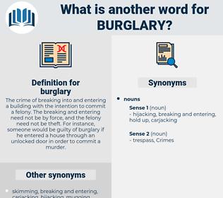 burglary, synonym burglary, another word for burglary, words like burglary, thesaurus burglary
