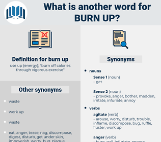 burn up, synonym burn up, another word for burn up, words like burn up, thesaurus burn up