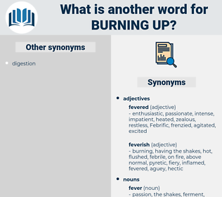 burning up, synonym burning up, another word for burning up, words like burning up, thesaurus burning up