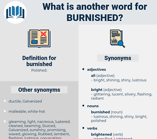 burnished, synonym burnished, another word for burnished, words like burnished, thesaurus burnished