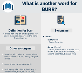 burr, synonym burr, another word for burr, words like burr, thesaurus burr