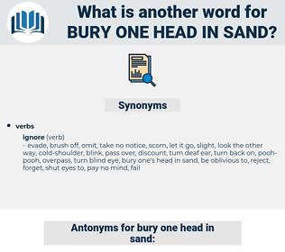 bury one head in sand, synonym bury one head in sand, another word for bury one head in sand, words like bury one head in sand, thesaurus bury one head in sand