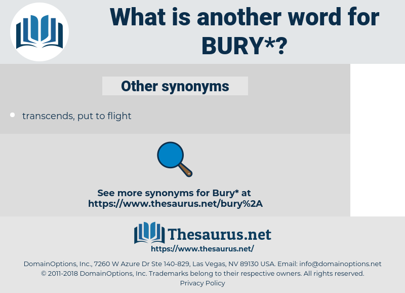 bury, synonym bury, another word for bury, words like bury, thesaurus bury