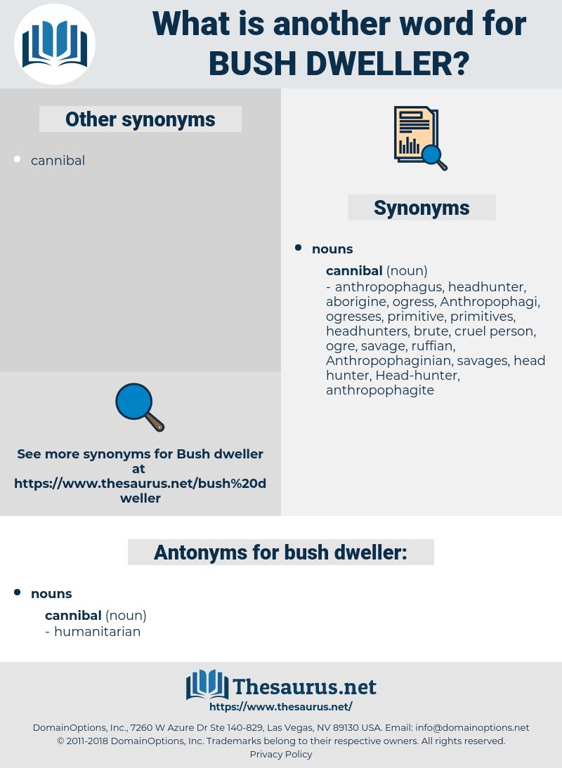 bush dweller, synonym bush dweller, another word for bush dweller, words like bush dweller, thesaurus bush dweller