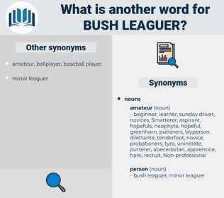 bush-leaguer, synonym bush-leaguer, another word for bush-leaguer, words like bush-leaguer, thesaurus bush-leaguer