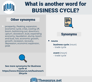 business cycle, synonym business cycle, another word for business cycle, words like business cycle, thesaurus business cycle