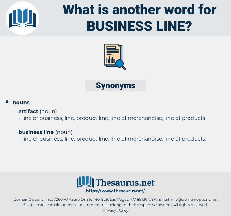 business line, synonym business line, another word for business line, words like business line, thesaurus business line