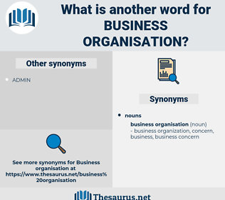 Business Organisation, synonym Business Organisation, another word for Business Organisation, words like Business Organisation, thesaurus Business Organisation