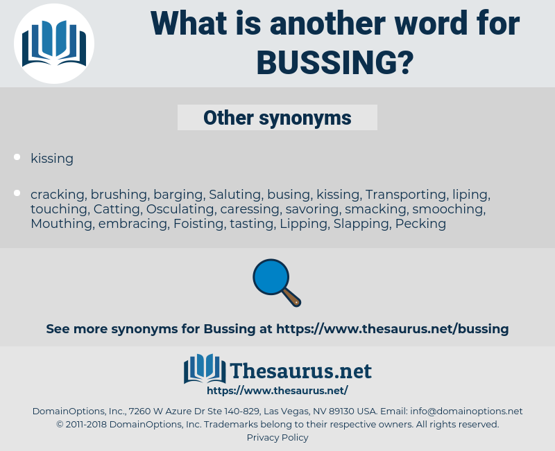 Bussing, synonym Bussing, another word for Bussing, words like Bussing, thesaurus Bussing