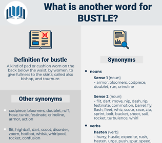 bustle, synonym bustle, another word for bustle, words like bustle, thesaurus bustle
