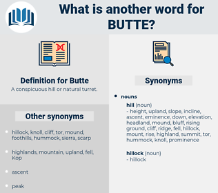 Butte, synonym Butte, another word for Butte, words like Butte, thesaurus Butte