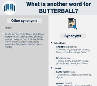 butterball, synonym butterball, another word for butterball, words like butterball, thesaurus butterball