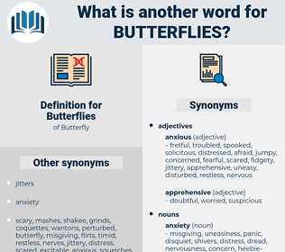 Butterflies, synonym Butterflies, another word for Butterflies, words like Butterflies, thesaurus Butterflies