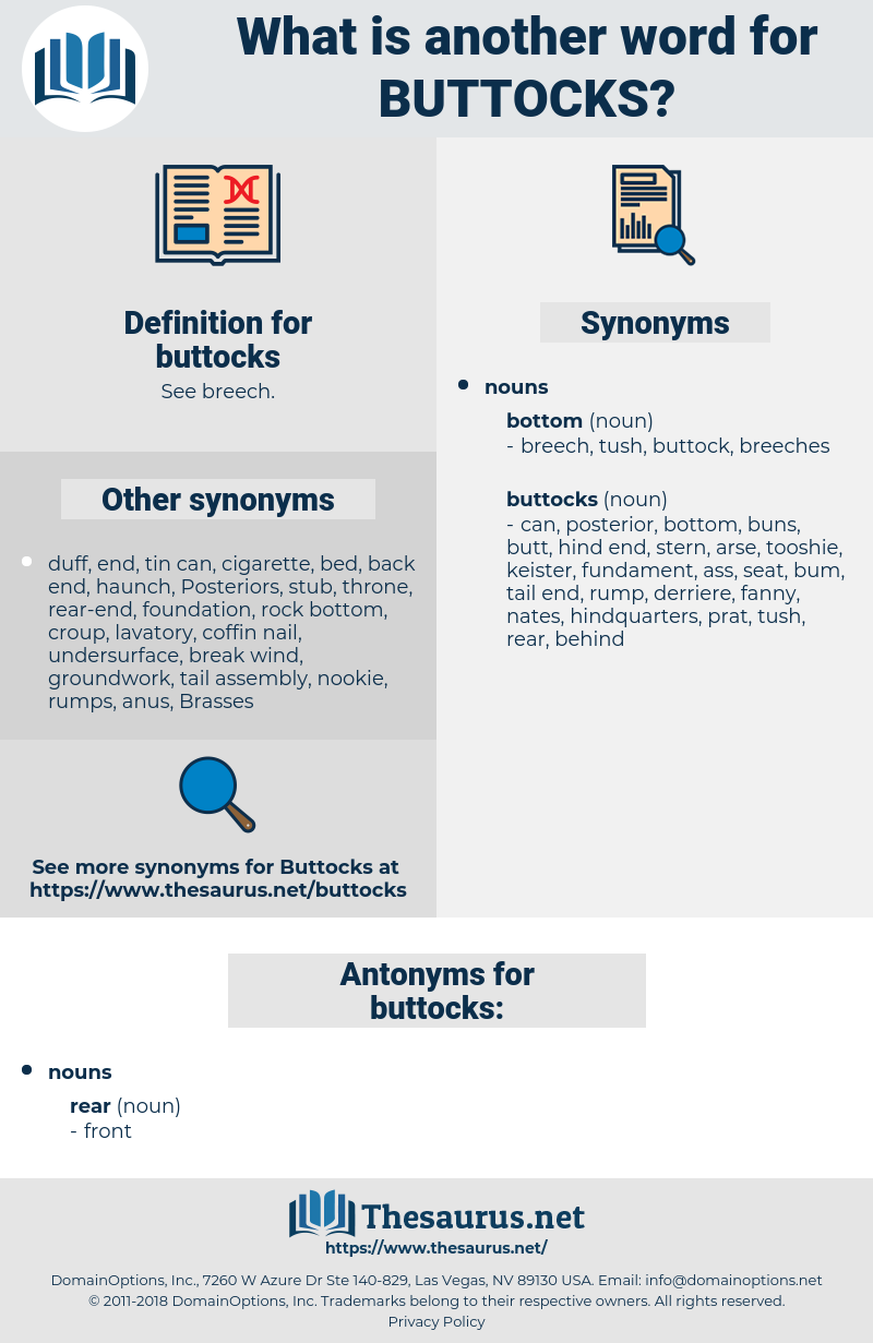 buttocks, synonym buttocks, another word for buttocks, words like buttocks, thesaurus buttocks