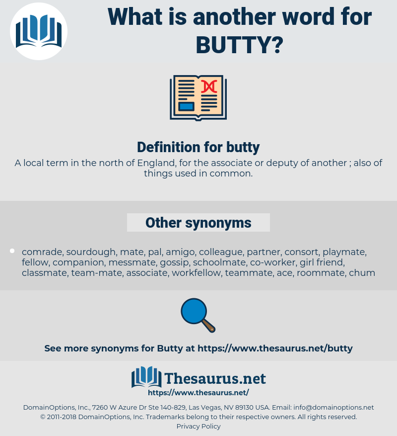 butty, synonym butty, another word for butty, words like butty, thesaurus butty