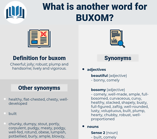 buxom, synonym buxom, another word for buxom, words like buxom, thesaurus buxom