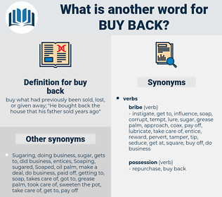 buy back, synonym buy back, another word for buy back, words like buy back, thesaurus buy back
