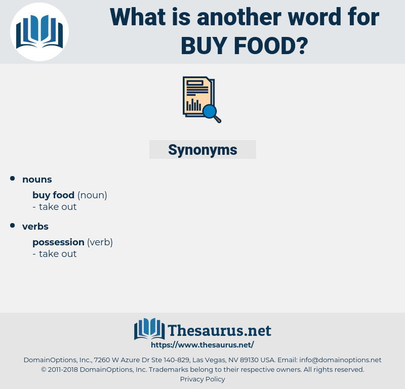 buy food, synonym buy food, another word for buy food, words like buy food, thesaurus buy food