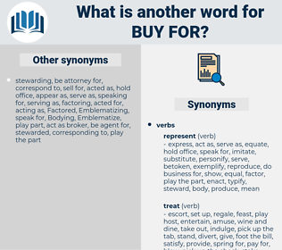 buy for, synonym buy for, another word for buy for, words like buy for, thesaurus buy for