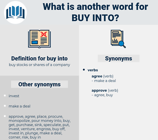 buy into, synonym buy into, another word for buy into, words like buy into, thesaurus buy into
