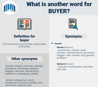 buyer, synonym buyer, another word for buyer, words like buyer, thesaurus buyer