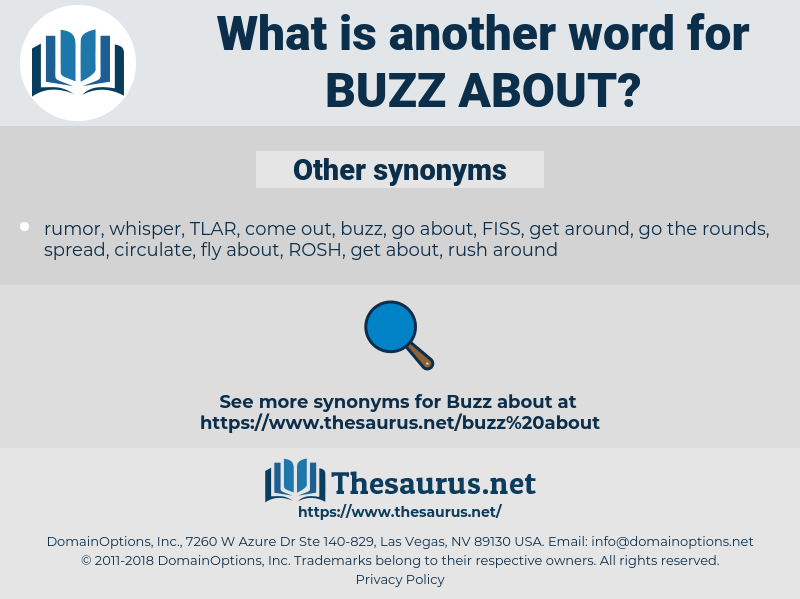 buzz about, synonym buzz about, another word for buzz about, words like buzz about, thesaurus buzz about