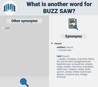 buzz saw, synonym buzz saw, another word for buzz saw, words like buzz saw, thesaurus buzz saw