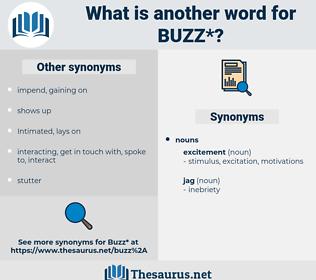 buzz, synonym buzz, another word for buzz, words like buzz, thesaurus buzz