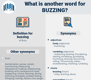 buzzing, synonym buzzing, another word for buzzing, words like buzzing, thesaurus buzzing