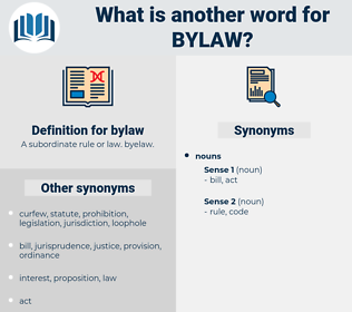 bylaw, synonym bylaw, another word for bylaw, words like bylaw, thesaurus bylaw