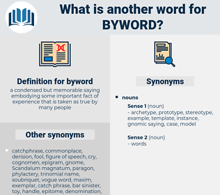 byword, synonym byword, another word for byword, words like byword, thesaurus byword