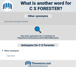 C. S. Forester, synonym C. S. Forester, another word for C. S. Forester, words like C. S. Forester, thesaurus C. S. Forester