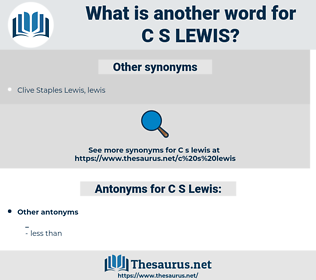 C. S. Lewis, synonym C. S. Lewis, another word for C. S. Lewis, words like C. S. Lewis, thesaurus C. S. Lewis
