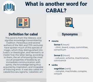 cabal, synonym cabal, another word for cabal, words like cabal, thesaurus cabal
