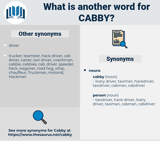 cabby, synonym cabby, another word for cabby, words like cabby, thesaurus cabby