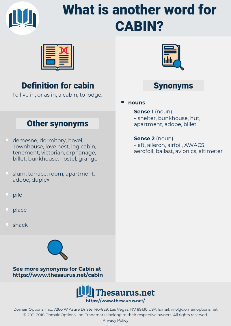 cabin, synonym cabin, another word for cabin, words like cabin, thesaurus cabin