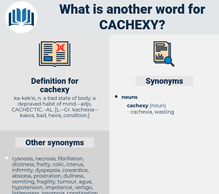 cachexy, synonym cachexy, another word for cachexy, words like cachexy, thesaurus cachexy